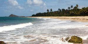 Caraïbische eilanden overzicht eiland in het Caribisch gebied