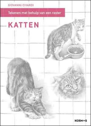 Giovanni Civardi Katten tekenen met behulp van raster