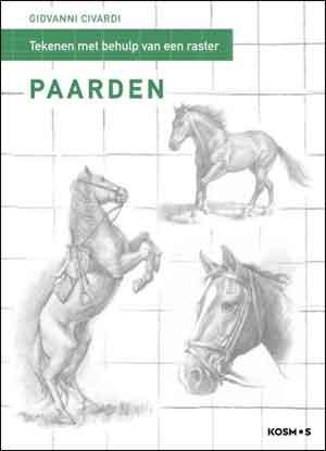 Giovanni Civardi Paarden tekenen met behulp van raster