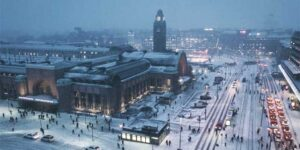 Internationale Treinstations in Europa - Station Helsinki