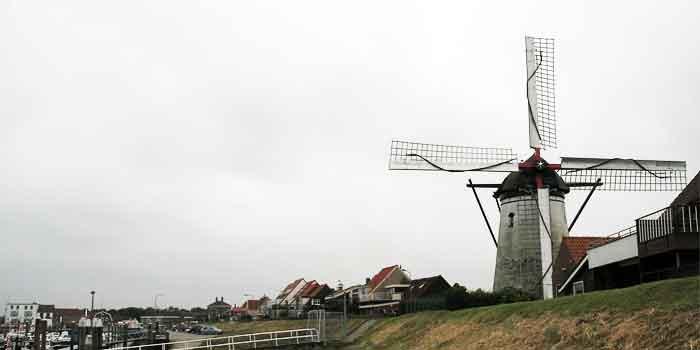 Molen in Zeeland Zeeuwse windmolens
