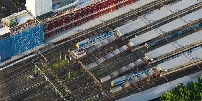 Spoorwegstations in Australië Spoorlijnen en Informatie
